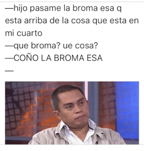 Significado de la palabra Broma.