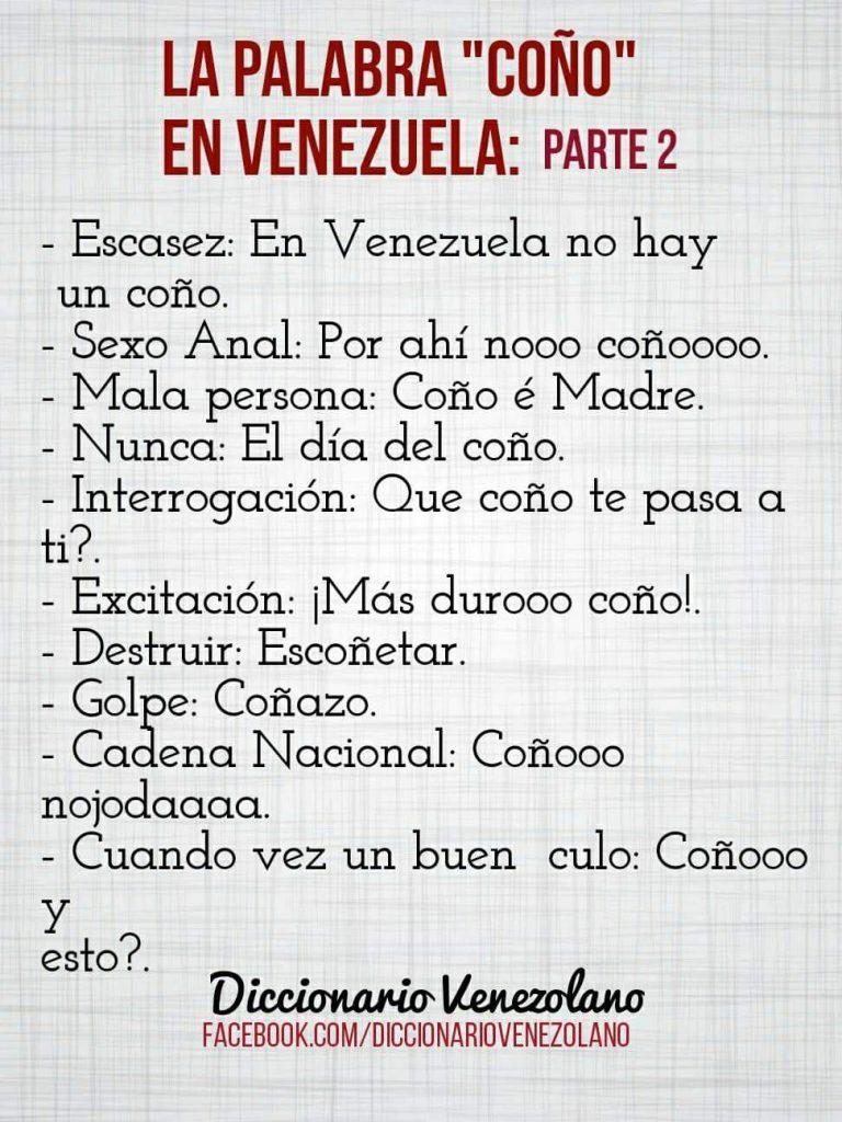 Descubre El Significado Exacto De La Palabra Coño En Venezuela