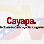 Significado de la palabra cayapa