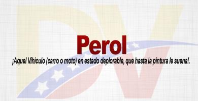 Significado de la palabra Perol