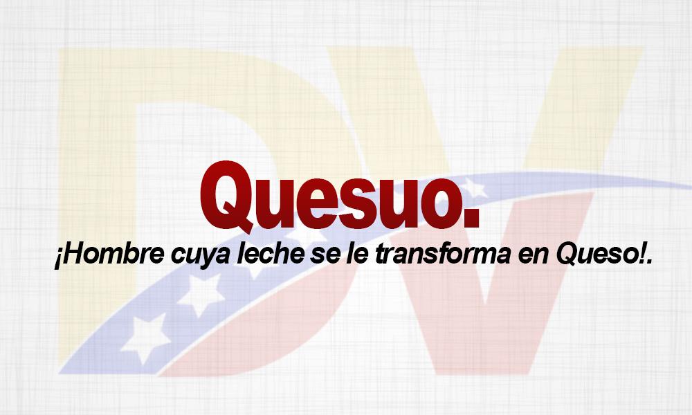 Significado de la palabra Quesuo(a).