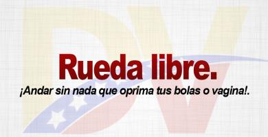 Significado de la expresión Rueda libre.