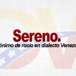 Significado de la palabra Sereno.