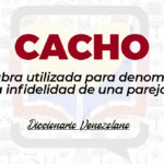 Significado de la palabra Cacho