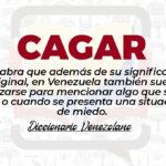 Significado de la palabra Cagar