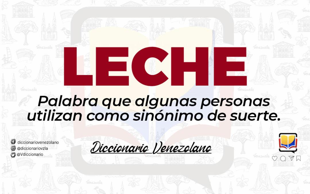 Significado de la palabra Leche