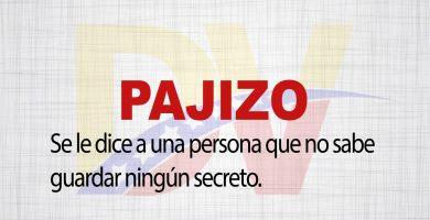 Significado de la palabra Pajizo.