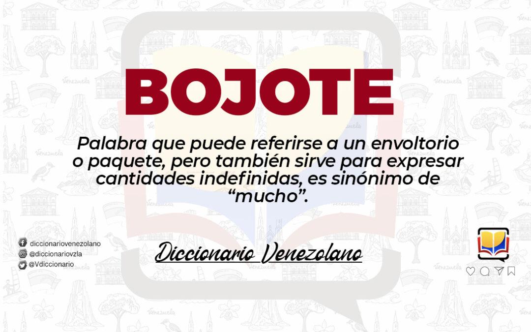 Significado de la palabra Bojote