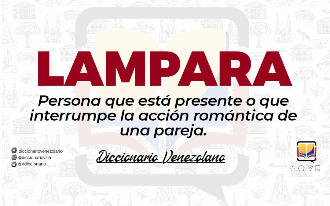 Significado de la palabra Lampara