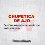 Significado de la expresión Chupetica de ajo