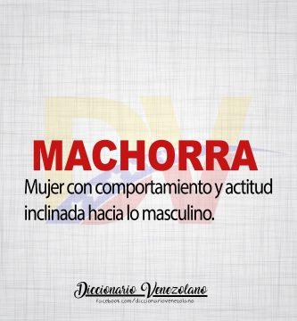 Significado de la Palabra Machorra