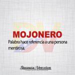 Significado de la palabra Mojonero