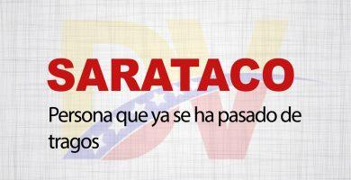 Significado de la palabra Sarataco
